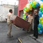 Entrega dos móveis do Sr. Newton ao Bazar Beneficente