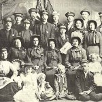 Salvacionistas nos Estados Unidos, em 1900.
