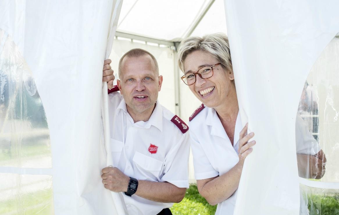 Oficiais do Exército de Salvação norueguês