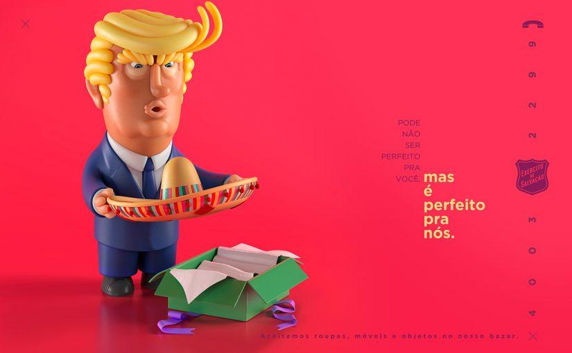 Exército de Salvação em parceria com agência publicitária WMcCann é finalista do Effie Awards Latino Americano