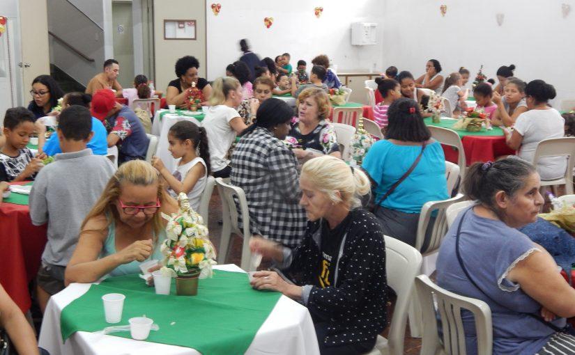 Ceia Solidária – Projeto 3 Corações – 12/12/2019